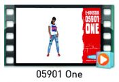 05901 One red