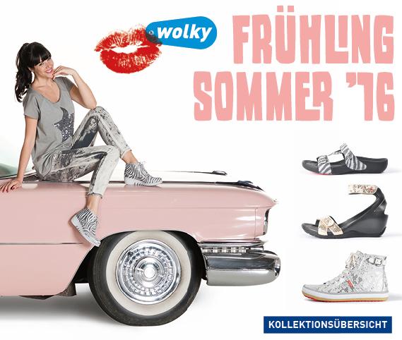 Frühling/Sommer Kollektion von Wolky