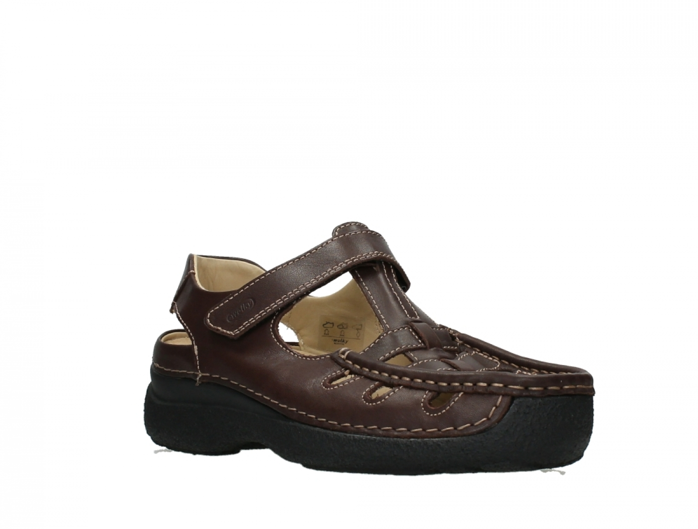 Wolky Shoes 09209 Roll Sandal Brown Leather Order Now