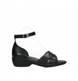 wolky sandalen 03851 lookout 30000 black leather
