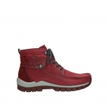 wolky bottines a lacets 04725 jump winter 59530 cuir bordeaux