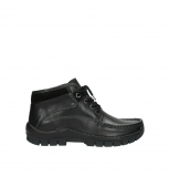 wolky bottines a lacets 04729 cross winter cw 30000 cuir noir