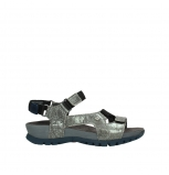 wolky sandalen 05450 cradle 93200 grey leather