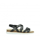wolky sandalen 08480 sunstone 30070 black leather