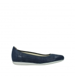 wolky ballet pumps 00110 tampa 20800 blue leather