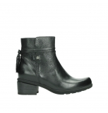 wolky ankle boots 01378 pamban 39000 black leather