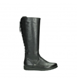 wolky long boots 02426 vector 20000 black leather