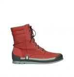 wolky lace up boots 02775 adams 13505 red nubuckleather