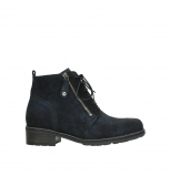 wolky lace up boots 04476 bunda 48800 blue suede