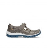 wolky chaussures a bride 04703 move 35260 cuir gris bleu