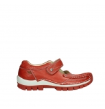 wolky mary janes 04709 step 35526 scarlet red leather