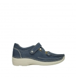 wolky mary janes 06291 seamy cross 10820 denim blue nubuck