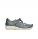wolky mary janes 06291 seamy cross 80870 blue leather