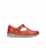 wolky chaussures a bride 08390 kuban 30500 cuir rouge