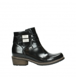 wolky ankle boots 00573 vigo 30000 black polished leather