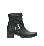 wolky ankle boots 00930 coyote 50000 black oiled leather