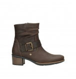 wolky bottines 00930 coyote 50300 cuir marron