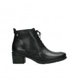 wolky ankle boots 00932 pistol 30000 black leather