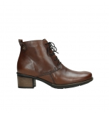 wolky ankle boots 00932 pistol 30430 cognac leather