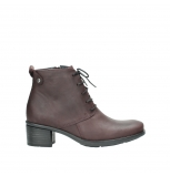 wolky ankle boots 00932 pistol 50510 burgundy oiled leather