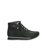 wolky lace up boots 05808 e funk 14000 black stretchleather