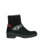 wolky ankle boots 07641 nitra 45000 black suede