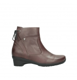 wolky ankle boots 07658 minnesota 10620 mottled metallic burgundy leather
