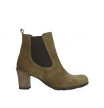 wolky ankle boots 07748 kelly 40310 mid brown oiled suede
