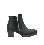 wolky ankle boots 08031 pantua 40000 black oiled suede