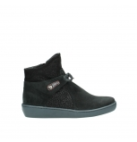 wolky ankle boots 08127 pharos 40000 black suede