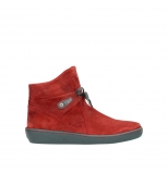 wolky ankle boots 08127 pharos 40500 red suede