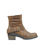 wolky mid calf boots 00472 lerma 80430 cognac leather