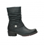 wolky mid calf boots 00526 desna 10000 black oiled nubuck