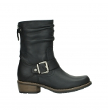 wolky mid calf boots 00572 lis 50002 black leather