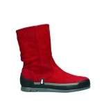 wolky mid calf boots 02776 greene 13505 red nubuckleather