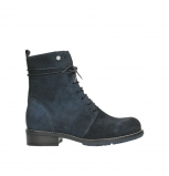 wolky mid calf boots 04432 murray 48800 blue suede
