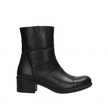 wolky mid calf boots 06032 amsterdam cw 20000 black leather cold winter warm lining