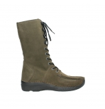wolky mid calf boots 06210 roll fashion 40155 taupe suede