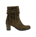 wolky mid calf boots 07747 daria 40310 mid brown oiled suede