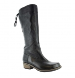 wolky high boots u 00552 pardo 30000 black leather