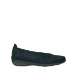 wolky slipons 00359 ballet 40800 dark blue suede