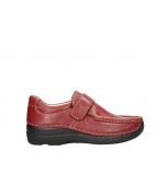 wolky slipons 06221 roll strap 30510 bordo leather