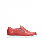 wolky slippers 08476 flint 30570 cuir rouge