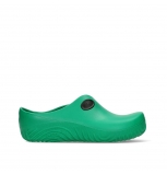 wolky clogs 02550 ok clog 90700 green fluor pu