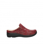 wolky clogs 06202 roll slide 12530 bordeaux nubuck
