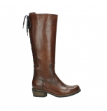 wolky high boots 00552 pardo 30430 cognac leather