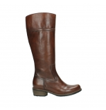 wolky long boots 00553 tinto 30430 cognac leather