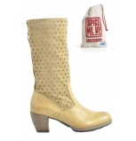 wolky long boots 07980 sisa 20370 desert beige leather