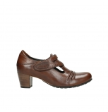 wolky court shoes 03750 acro 20430 cognac leather