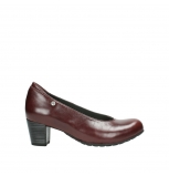 wolky court shoes 03753 rumba 30510 burgundy leather